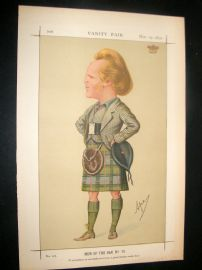 Vanity Fair Print 1870 Marquis of Lorn, Scotsman